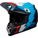 Bell MX-9 Strike MIPS Helmet Matte Black/Blue/White