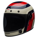 Bell Bullitt Carbon Hustle Helmet Red/White/Candy Blue