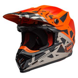 Bell Moto-9 MIPS Helmet 2019 Tremor Black/Orange/Chrome