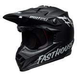 Bell Youth Moto-9 Fasthouse MIPS Helmet Matte Black/White