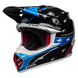 Bell Moto-9 Tomac Replica 19 Eagle MIPS Helmet Red/Blue/Black