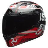 Bell Qualifier DLX Isle of Man MIPS Helmet Black/Red