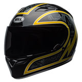 Bell Qualifier Scorch Helmet Black/Gold Flake