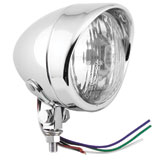 "Biker's Choice 4"" Spot Lamp with Visor"