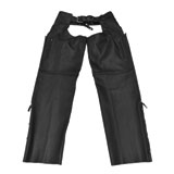 Black Brand Moto Leather Motorcycle Chaps