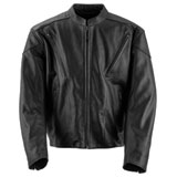 Black Brand Killer Leather Motorcycle Jacket