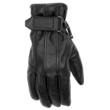 Black Brand Women's Back Road Leather Motorcycle Gloves