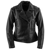 Black Brand Women's Enchantress Leather Motorcycle Jacket