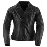 Black Brand Women's Sapphire Leather Motorcycle Jacket