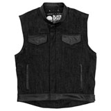Black Brand Black Denim Vest