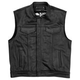Black Brand Club Kooltek Leather Vest