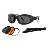 Bobster Sport and Street II Convertible Sunglasses Black