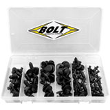 Bolt Nylon Rivet Assortment 120 Piece Kit