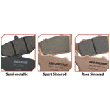 Braking Race Semi Metallic Compound CM66 Brake Pads