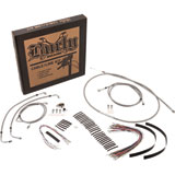 Burly Braided Stainless Steel Control Cable Kit with ABS