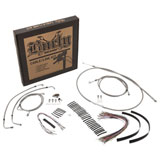Burly Braided Stainless Steel Control Cable Kit without ABS