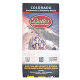 Butler Motorcycle Maps Colorado Backcountry Discover Route: Dual Sport Map