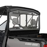 Can-Am Rear Glass Window with Sliding Panel