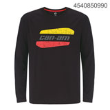 Can-Am Original Long Sleeve T-Shirt Black