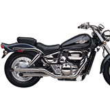 "Cobra Boulevard 2"" Drag Pipe Slip-On Motorcycle Exhaust"