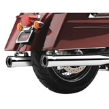 "Cobra 3"" Race-Pro Tips Slip-On Mufflers (No CA)"
