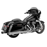 "Cobra 4"" Slip-On Mufflers with Contrast Tips (No CA)"