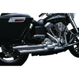 Crusher Power Cell Staggered Dual Motorcycle Exhaust