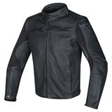 Dainese Razon Perforated Leather Jacket Black