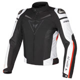 Dainese Super Speed Tex Jacket Black/White/Red