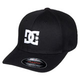 DC Cap Star 2 Flex Fit Hat Black