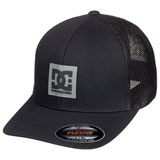 DC Mesh Trucker Flex Fit Hat Black