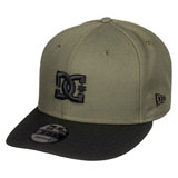DC Empire Fielder Snapback Hat Fatigue Green
