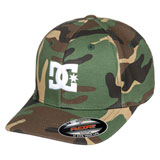 DC Youth Cap Star 2 Flex Fit Hat Camo