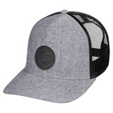 DC Stocktons Snapback Hat Grey Heather