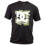 DC Square Camo Star T-Shirt Black