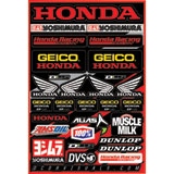 D'Cor Visuals Team Geico Honda Decal Sheet