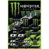 D'Cor Visuals Monster Energy Decal Sheet