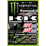 D'Cor Visuals Monster Kawasaki Decal Sheet