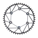 Dirt Tricks Zirconium Rear Sprocket Diamond Gunmetal Black