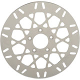 Drag Specialties Polished Stainless Steel Mesh Rotor