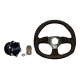 Dragonfire Racing Vinyl D Quick-Release Steering Wheel Kit
