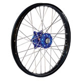 Dubya Complete Front Wheel Kit with Talon Billet Hub & DID Dirtstar STX Wheel Black Rim/Blue Hub