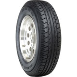 Duro DS2100 Radial Trailer Tire with 5 on 4.5 Bolt Pattern Wheel
