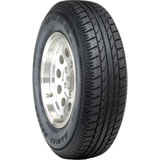Duro DS2100 Radial Trailer Tire with 6 on 5.5 Bolt Pattern Wheel