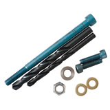Eagle Mfg. Subframe Bolt Upgrade Kit For Tusk and SW Motech Crash Bars