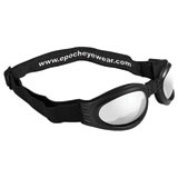 Epoch Folding Goggles Black Frame/Clear Lens