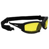 Epoch Hybrid Sunglasses Black Frame/Yellow Lens