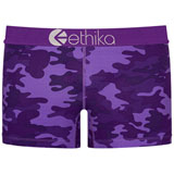 Ethika Women's Staple Boy Shorts Punch Camo
