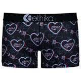 Ethika Women's Staple Boy Shorts Heart Breaker