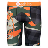 Ethika Underwear Back Woodland